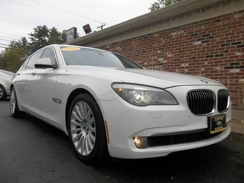 BMW Series For Sale In New Hampshire Carsforsalecom - 2012 bmw 745li