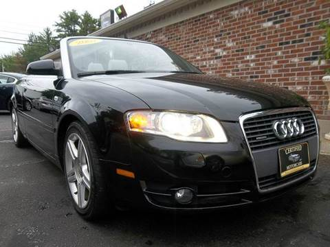 2007 Audi A4 for sale in Franklin, NH