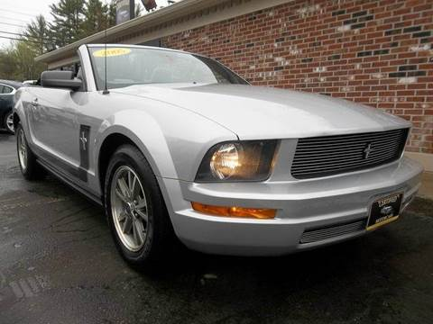 2005 Ford Mustang for sale in Franklin, NH