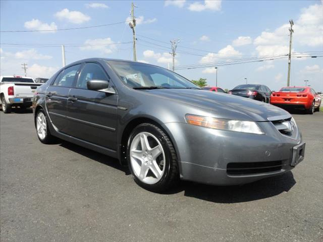 2005 ACURA TL 5-SPEED AT WITH NAVIGATION SYS gray driver air bag passenger air bag front side ai
