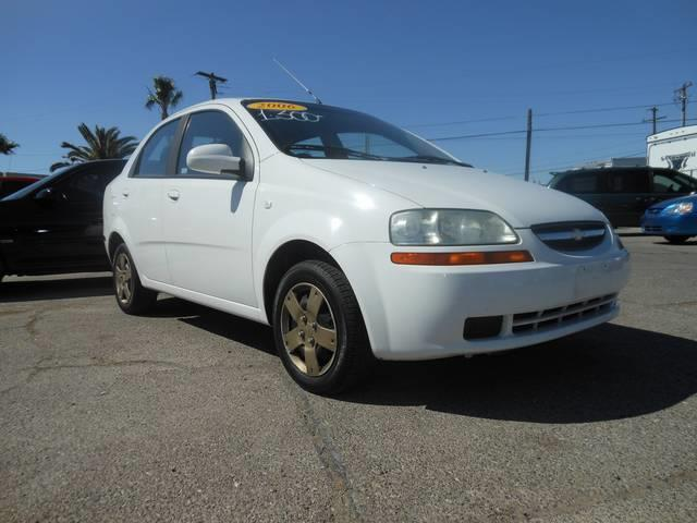 Used Cars in Henderson 2006 Chevrolet Aveo