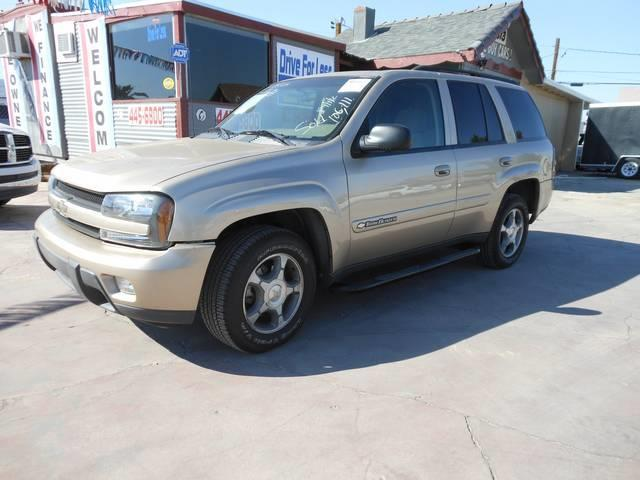 Used Cars in Henderson 2004 Chevrolet TrailBlazer