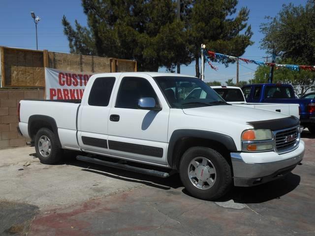 Used Cars in Henderson 2002 GMC Sierra 1500