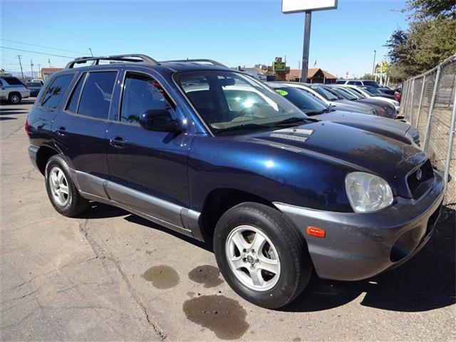 Used Cars in Henderson 2004 Hyundai Santa Fe