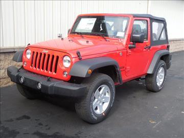 2017 Jeep Wrangler for sale in Avon, NY