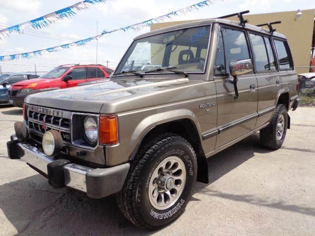 Montero 1989 Sale 1989 Mitsubishi Montero