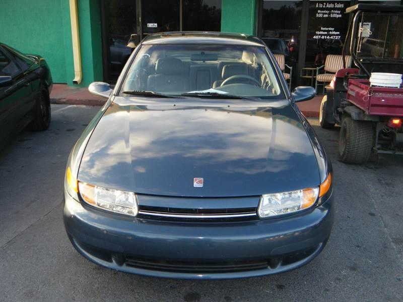 2002 Saturn L Series L200 4dr Sedan In Apopka Fl A To Z Auto Sales