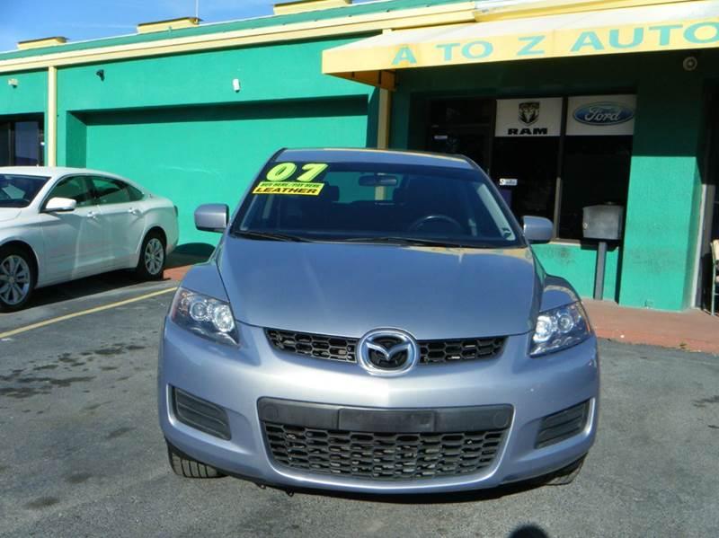 2007 Mazda Cx 7 Sport 4dr Suv In Apopka Fl A To Z Auto Sales
