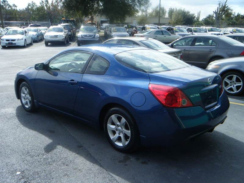2008 nissan altima 2 5 s 2dr coupe in apopka fl a to z auto sales. Black Bedroom Furniture Sets. Home Design Ideas