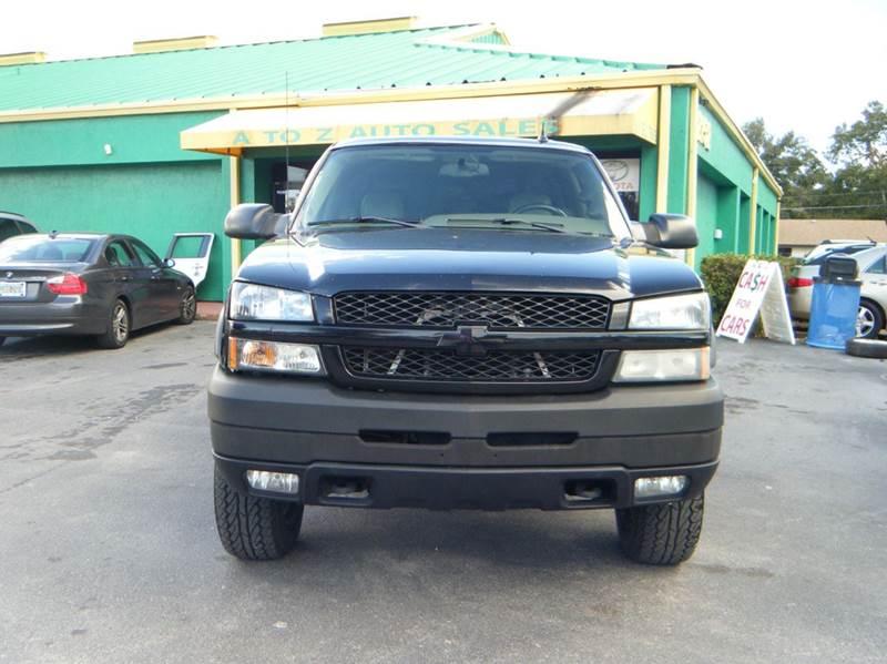 2004 Chevrolet Silverado 2500hd 4dr Crew Cab 4wd Sb In