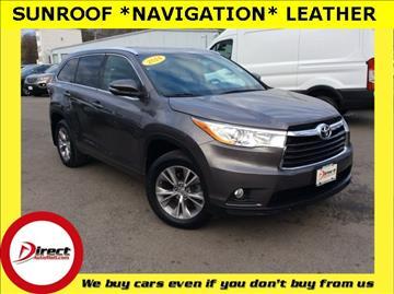 2014 Toyota Highlander for sale in Framingham, MA