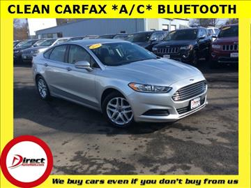 2014 Ford Fusion for sale in Framingham, MA
