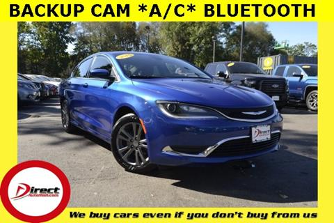 2015 Chrysler 200 for sale in Framingham, MA