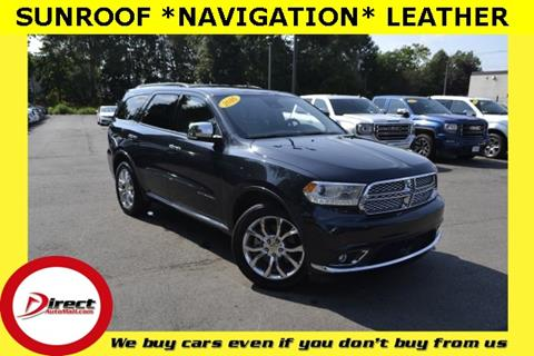 2016 Dodge Durango for sale in Framingham, MA