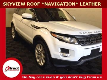2013 Land Rover Range Rover Evoque for sale in Framingham, MA