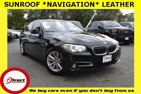 2015 BMW 5 Series for sale in Framingham, MA