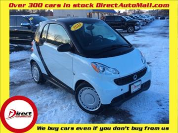 2013 Smart fortwo for sale in Framingham, MA