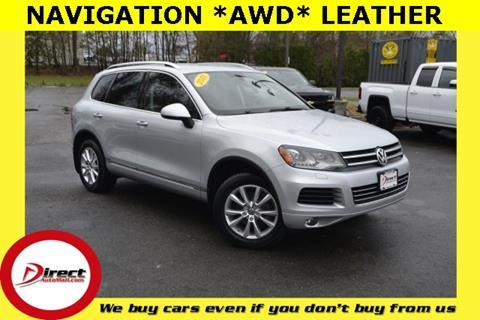2013 Volkswagen Touareg for sale in Framingham, MA