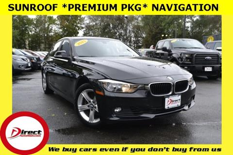 2015 BMW 3 Series for sale in Framingham, MA