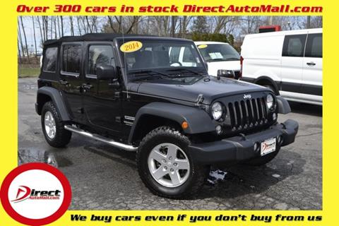2014 Jeep Wrangler Unlimited for sale in Framingham, MA