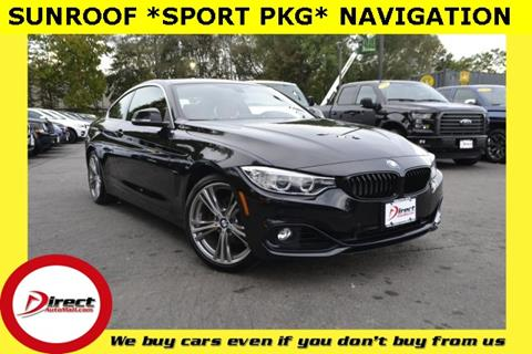 2016 BMW 4 Series for sale in Framingham, MA