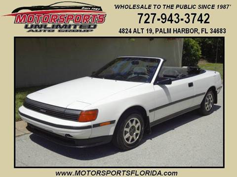 1989 Toyota Celica for sale in Palm Harbor, FL