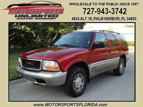 2000 GMC Jimmy for sale in Palm Harbor, FL
