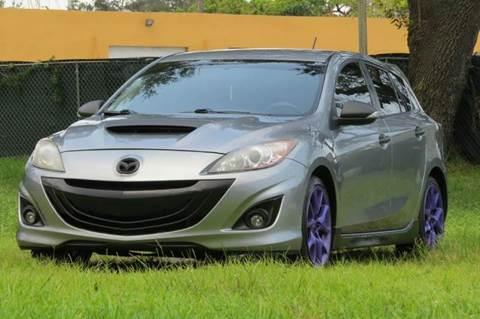 2013 Mazda MAZDASPEED3 for sale in Hollywood, FL