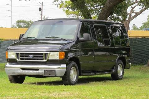 2003 Ford E 150 For Sale In Hollywood FL