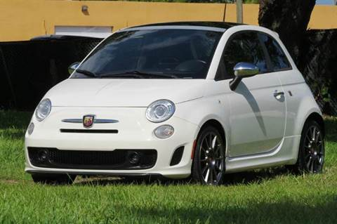 2013 FIAT 500 for sale in Hollywood, FL