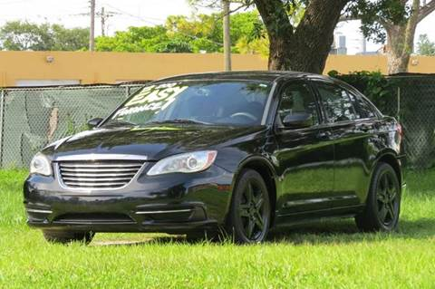 2013 Chrysler 200 for sale in Hollywood, FL