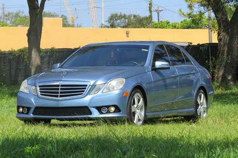 2010 Mercedes-Benz E-Class for sale in Hollywood, FL