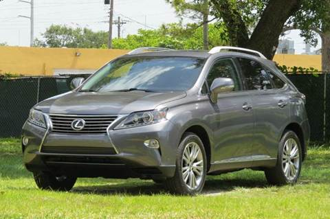2013 Lexus RX 350 for sale in Hollywood, FL
