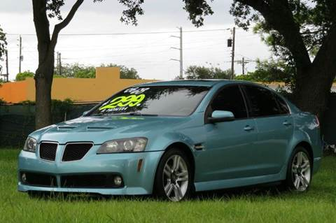 Used Pontiac G8 For Sale Florida Carsforsale Com