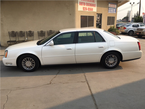 2003 Cadillac DeVille for sale in Lemoore, CA