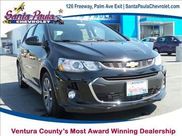 2017 Chevrolet Sonic for sale in Santa Paula, CA