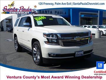 2015 Chevrolet Tahoe for sale in Santa Paula, CA