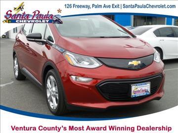 2017 Chevrolet Bolt EV for sale in Santa Paula, CA
