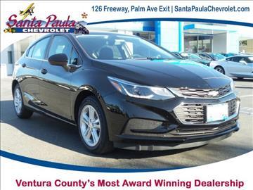 2017 Chevrolet Cruze for sale in Santa Paula, CA