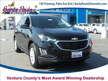 2018 Chevrolet Equinox for sale in Santa Paula, CA