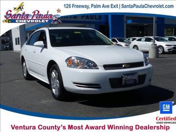 2016 Chevrolet Impala Limited for sale in Santa Paula, CA