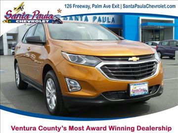 2018 Chevrolet Equinox for sale in Santa Paula, CA