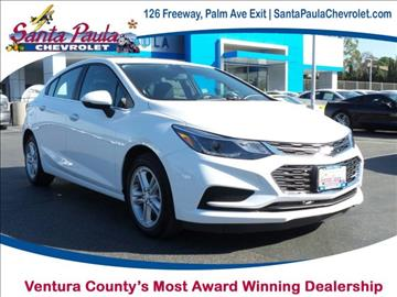 2017 Chevrolet Cruze for sale in Santa Paula, CA