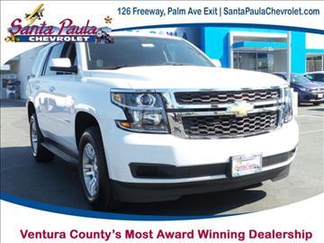 2017 Chevrolet Tahoe for sale in Santa Paula, CA