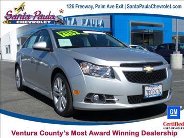 2014 Chevrolet Cruze for sale in Santa Paula, CA