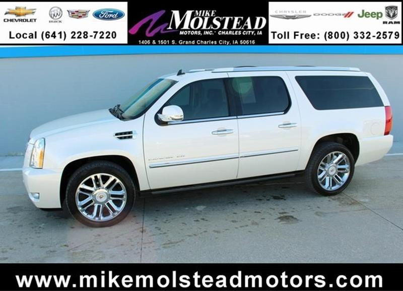 Cadillac escalade esv for sale in iowa for Mike molstead motors charles city iowa