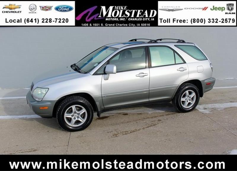 Lexus rx 300 for sale in iowa for Mike molstead motors charles city iowa