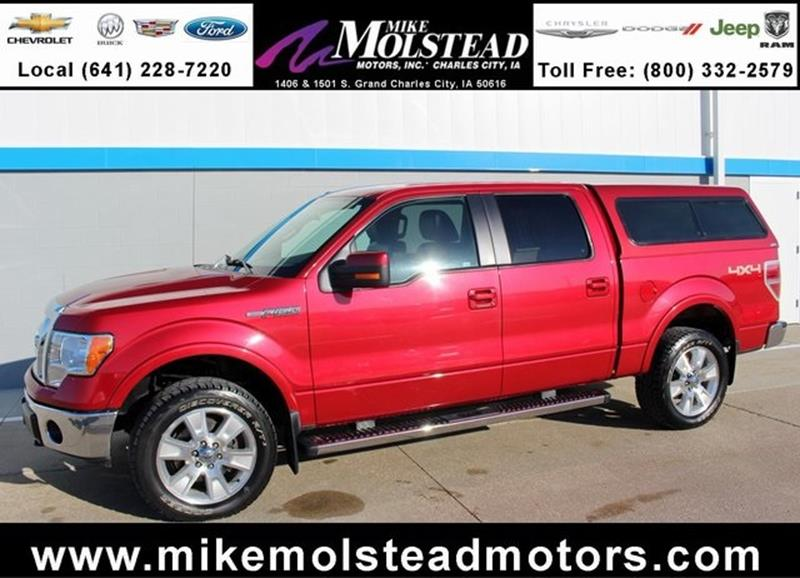 2011 ford f 150 for sale for Mike molstead motors charles city iowa