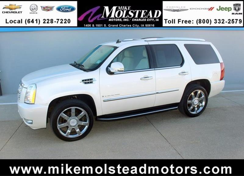 Used cadillac for sale in iowa for Mike molstead motors charles city iowa