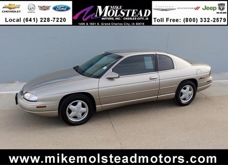 1999 chevrolet monte carlo for sale for Mike molstead motors charles city iowa
